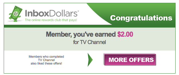 email example cash TV earnings
