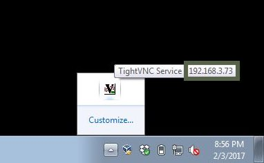 TightVNC IP Show
