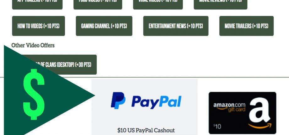 Make Money Watching Videos on TTS